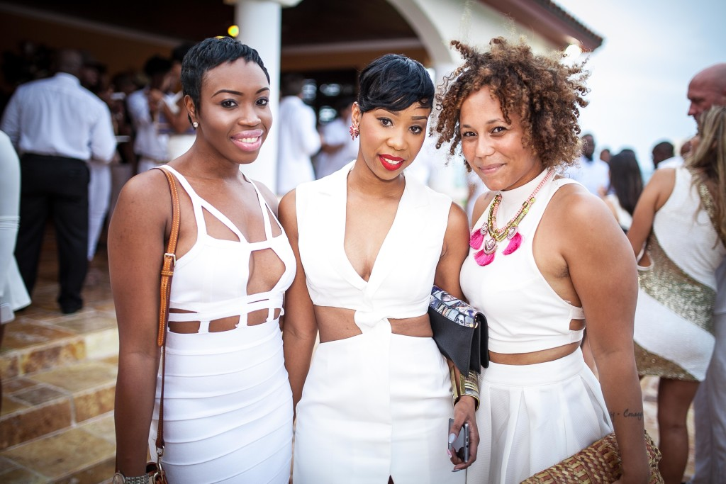 242 Socialites Show Out At All White Party Elife 242
