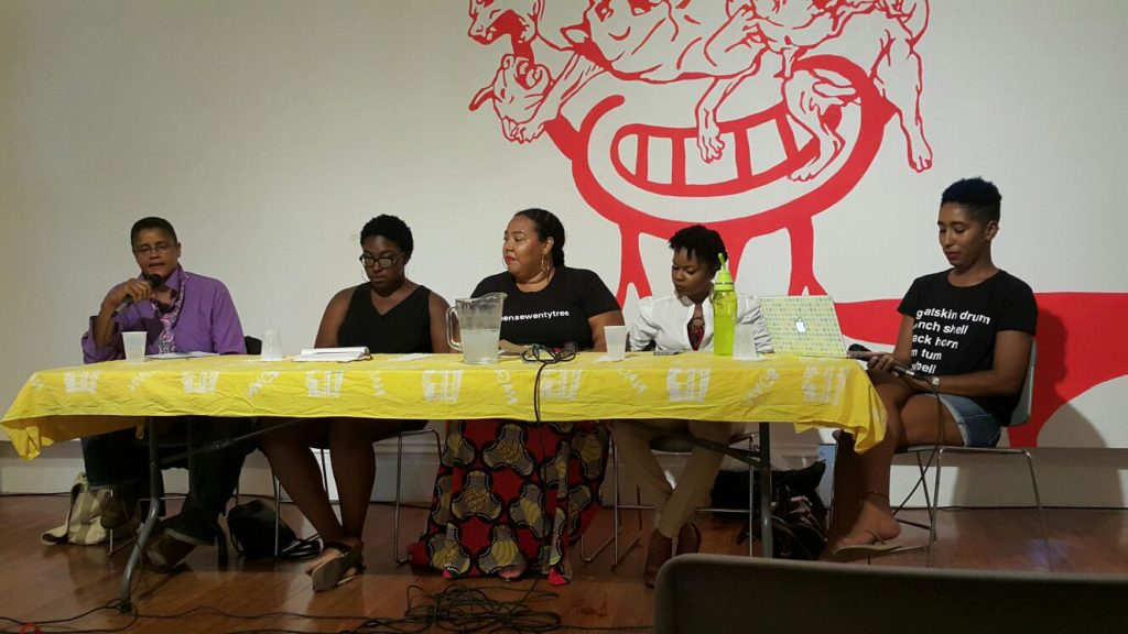 Women's Wednesdays initiative panel discussion.